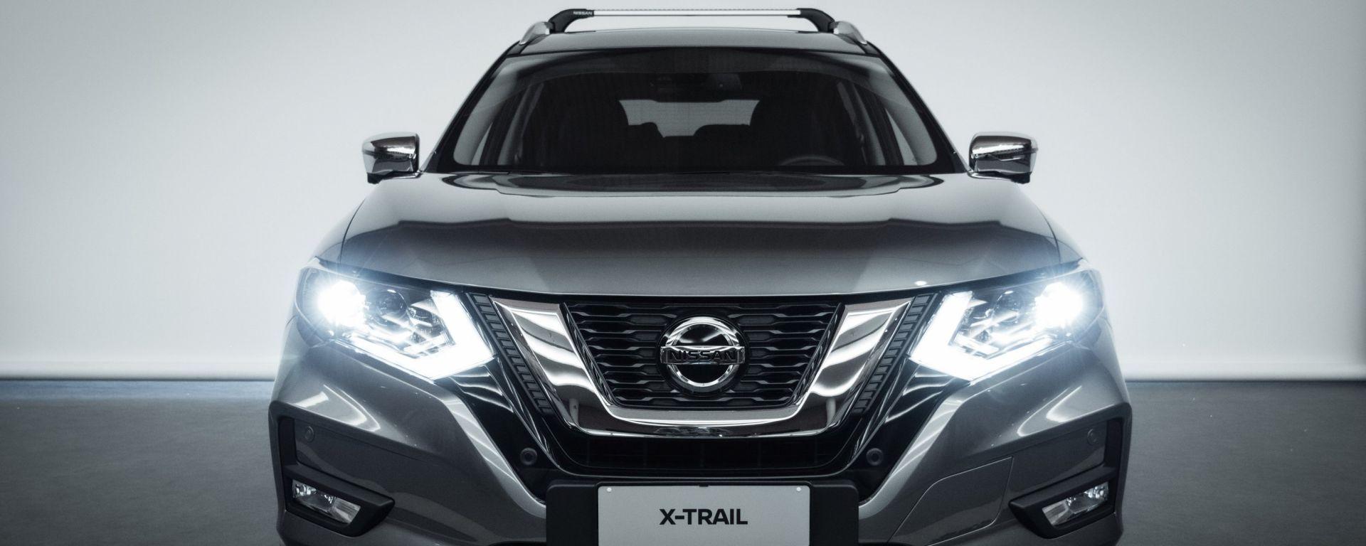 Nissan X-Trail Salomon: visuale frontale