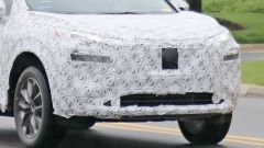 Nissan X-Trail spy foto dettaglio anteriore