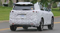 Nissan X-Trail spy foto posteriore