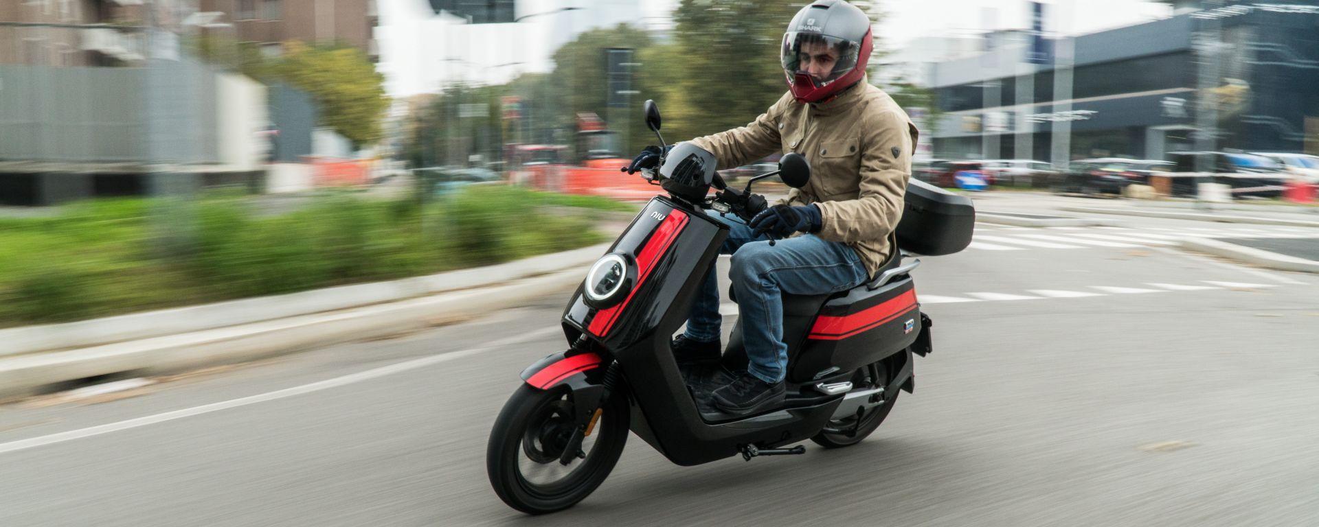 NIU NQi GTS Sport: lo scooter elettrico è un re in città