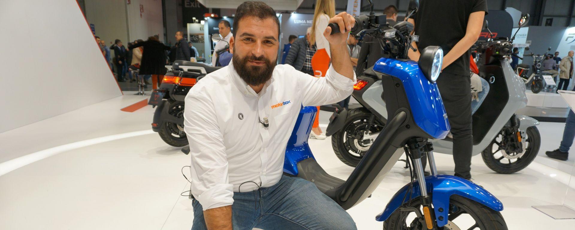 NIU UQIGT PRO: il mix tra e-bike e scooter a Eicma 2019
