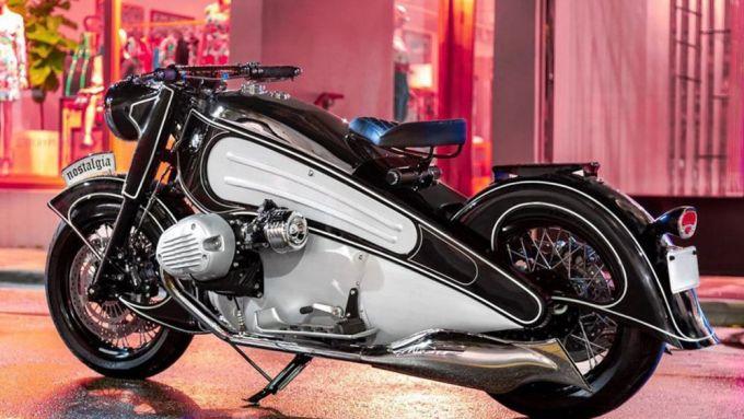 NMoto Studio Nostaligai: rivive la R7 leggendario prototipo BMW anni '30