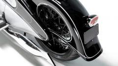 NMoto Sudio Nostlagia: la coda della moto con il faretto posteriore a LED