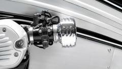 NMoto Sudio Nostlagia: un particolare del finto carburatore