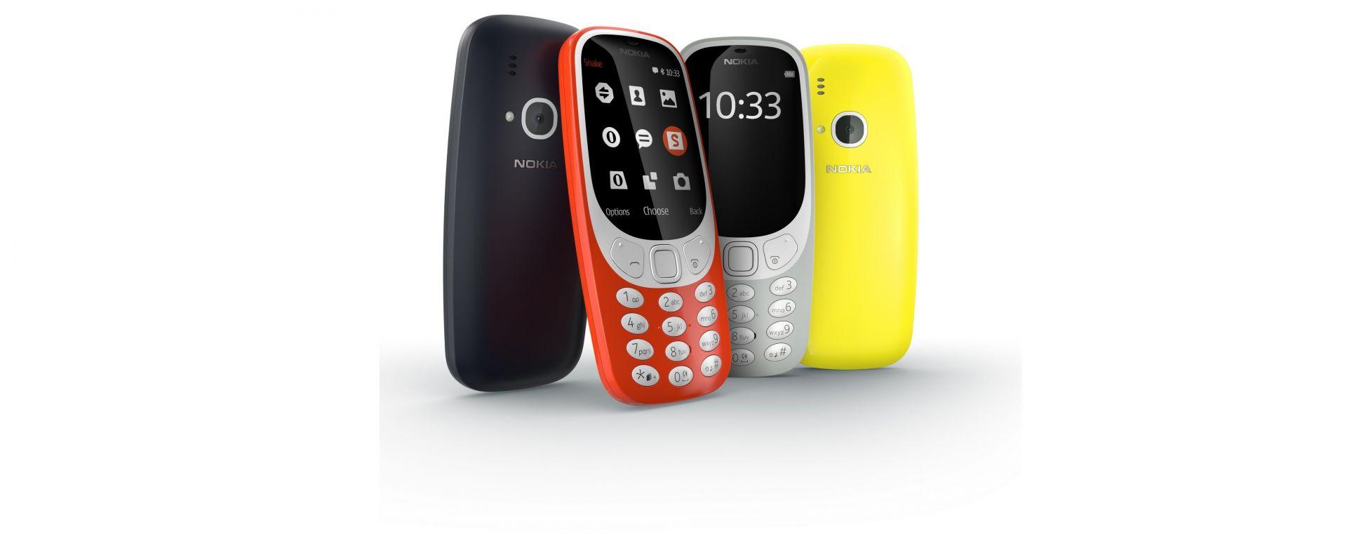 Nokia 3310: ritorna il mito, ma fatto da altri