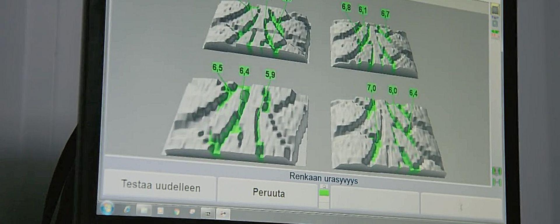 Nokian SnapSkan: ecco che cosa vede lo scanner 3D per i battistrada