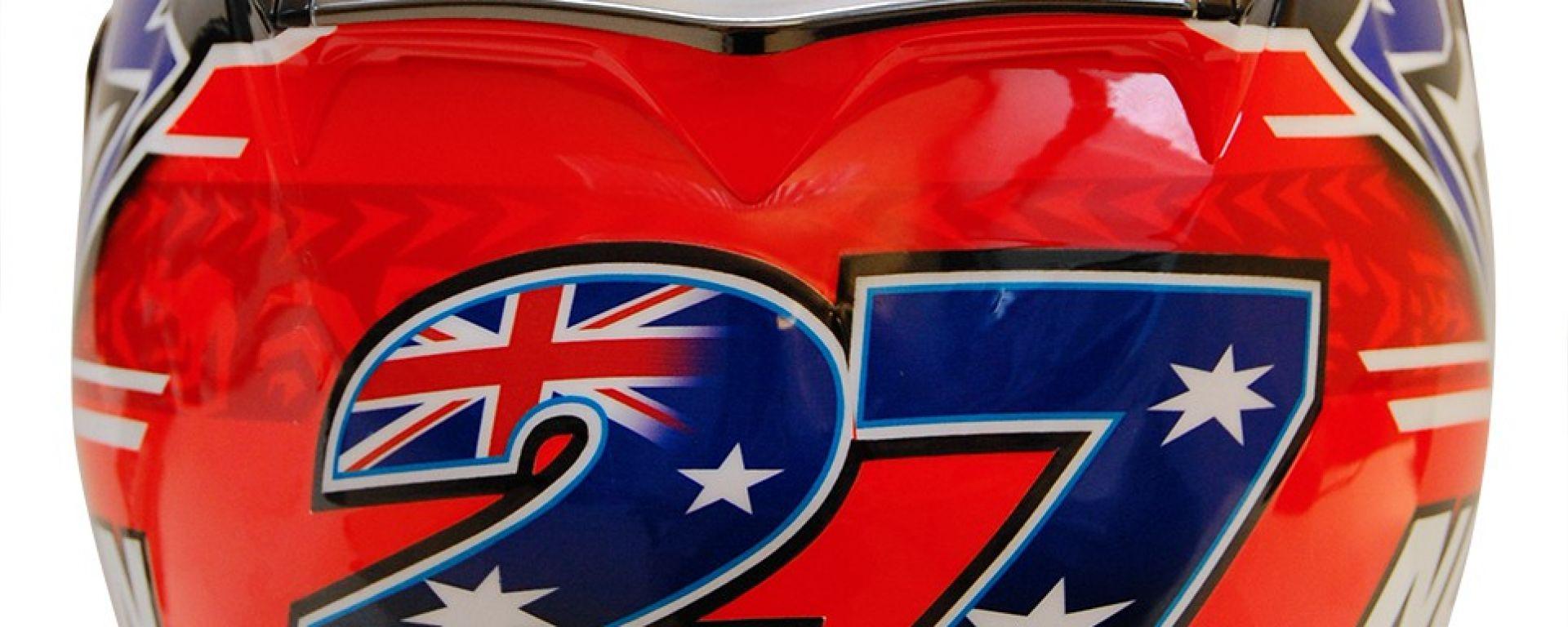 Nolan: casco X-802RRUltra Carbon Carbon Fitting per Casey Stoner