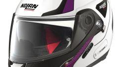 Nolan N90-2 Straton Purple-White
