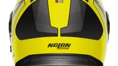 Nolan N90-2 Straton Yellow, vista posteriore