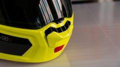 Nolan N90-3: la presa d'aria sulla mentoniera
