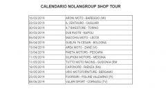 Nolangroup Shop Tour: il calendario e i caschi da provare - Immagine: 2