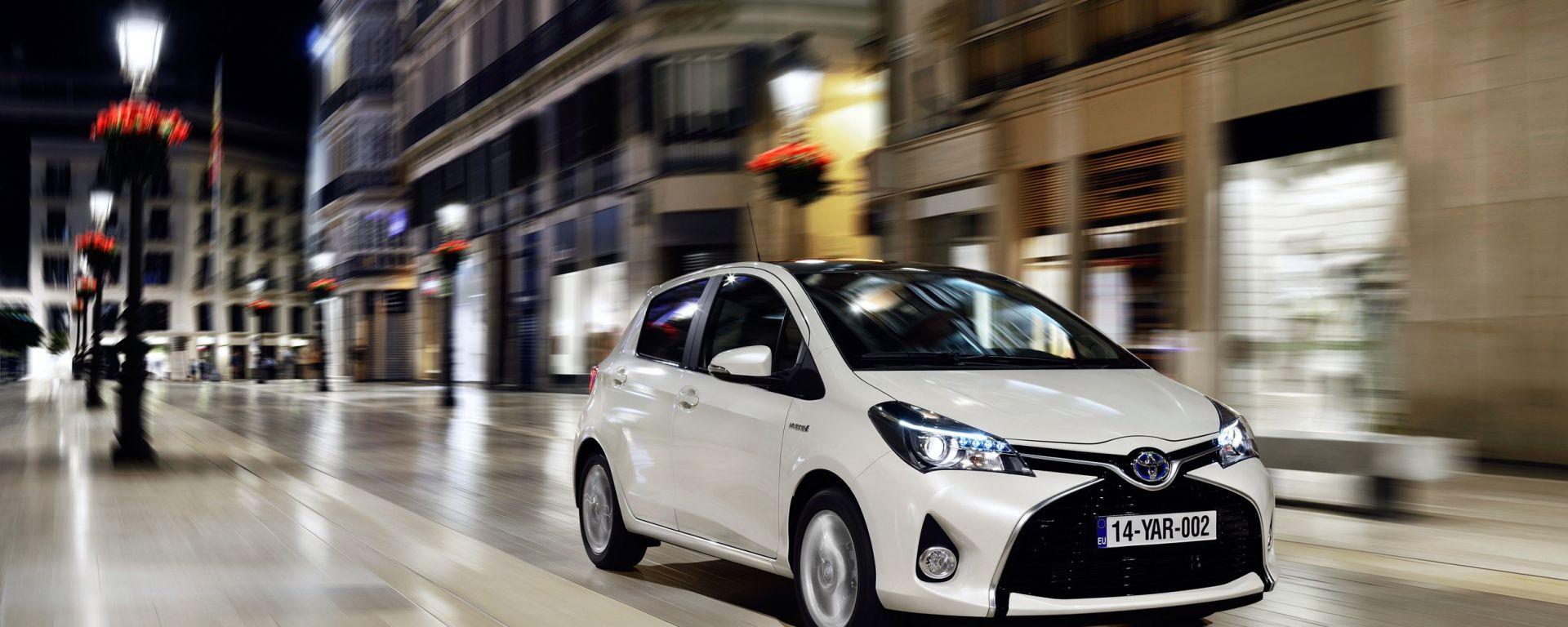 Europcar: boom per le ibride Toyota