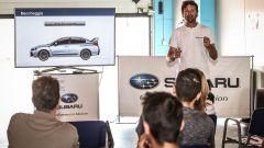 Non solo lezioni in pista ma anche lezioni teoriche- Subaru Driving School 2017
