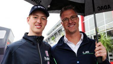 Non solo Mick, anche suo cugino David Schumacher, figlio del bravo Ralf, sta tentando la scalata alla Formula 1