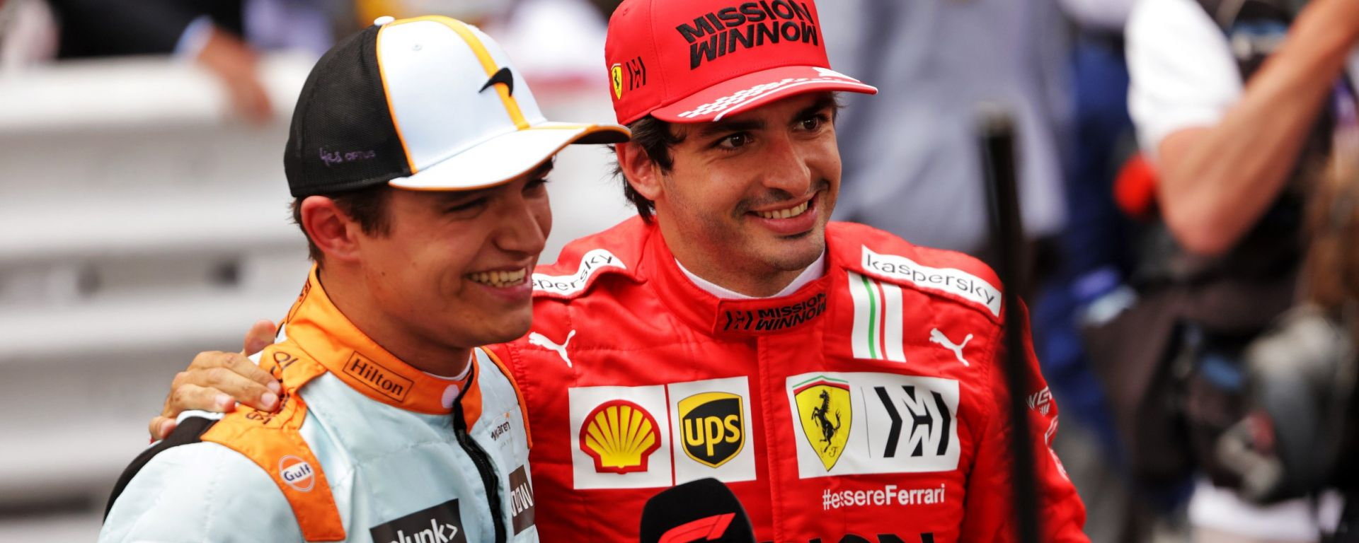 """Norris: """"Sapevo che Sainz era a un livello simile a Ricciardo"""""""