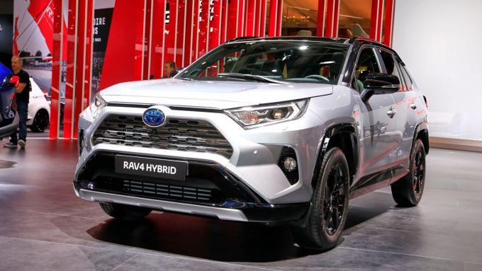 La nuova Toyota Rav4 Hybrid 2019