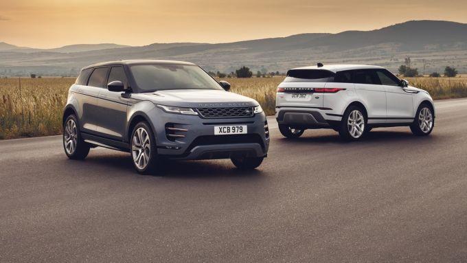 Range Rover Evoque è una delle novità auto 2019