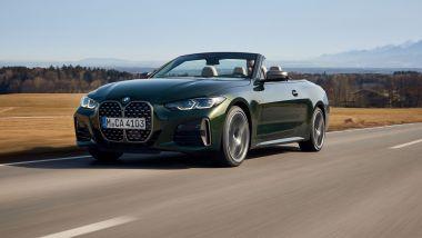 Novità BMW estate 2021: BMW Serie 4 Cabrio