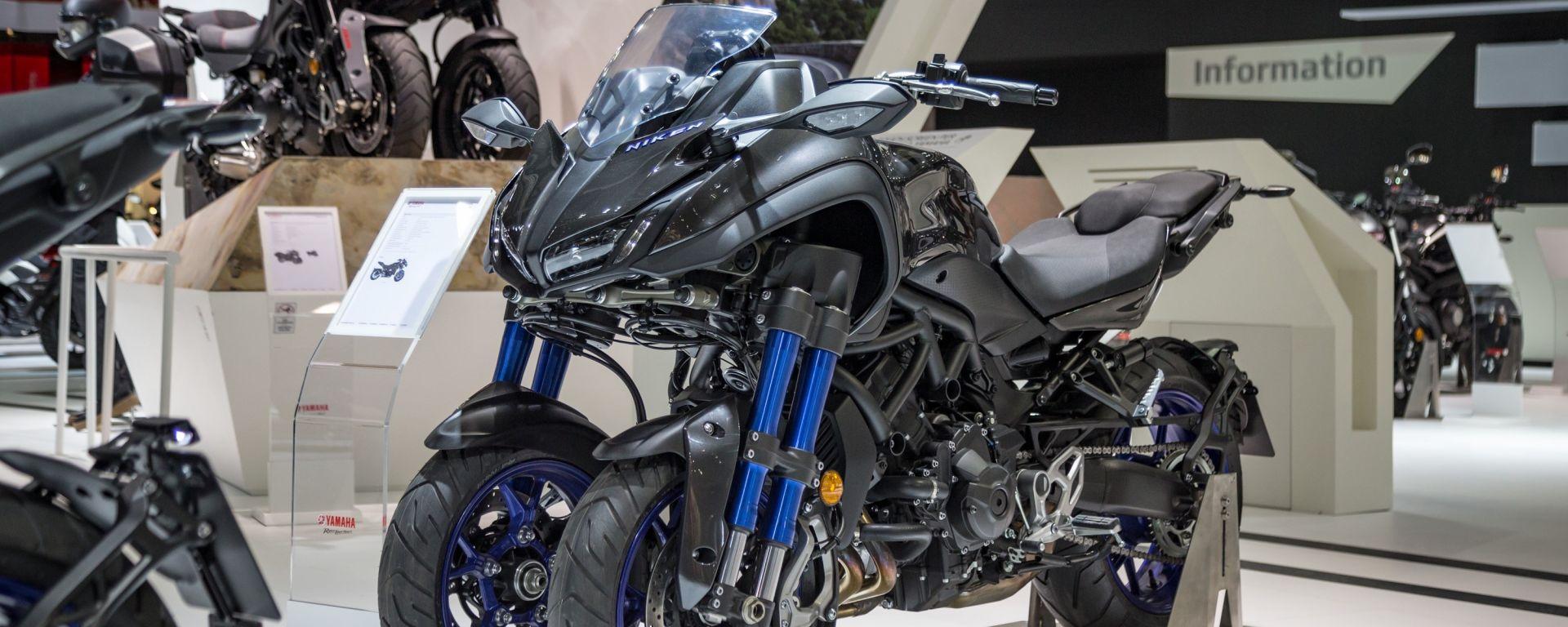 Yamaha Niken GT: la moto a tre ruote per girare il mondo [VIDEO]