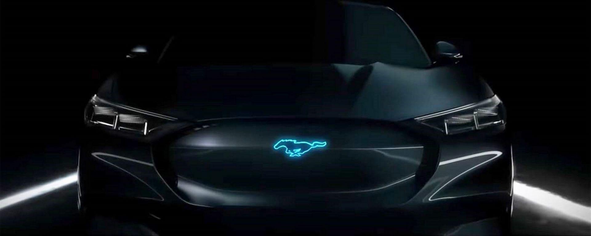 Novità Ford Mach E, il SUV elettrico, arriva ad aprile 2019