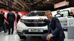 Salone di Parigi 2018: Vincenzo Picardi racconta la Honda CR-V ibrida