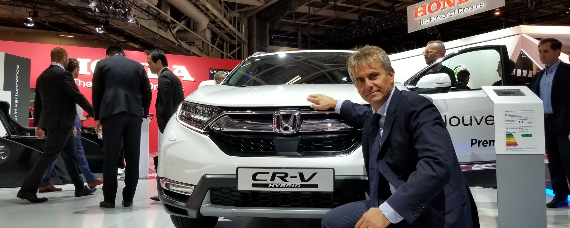 Novità Honda a Parigi 2018: intervista a Vincenzo Picardi