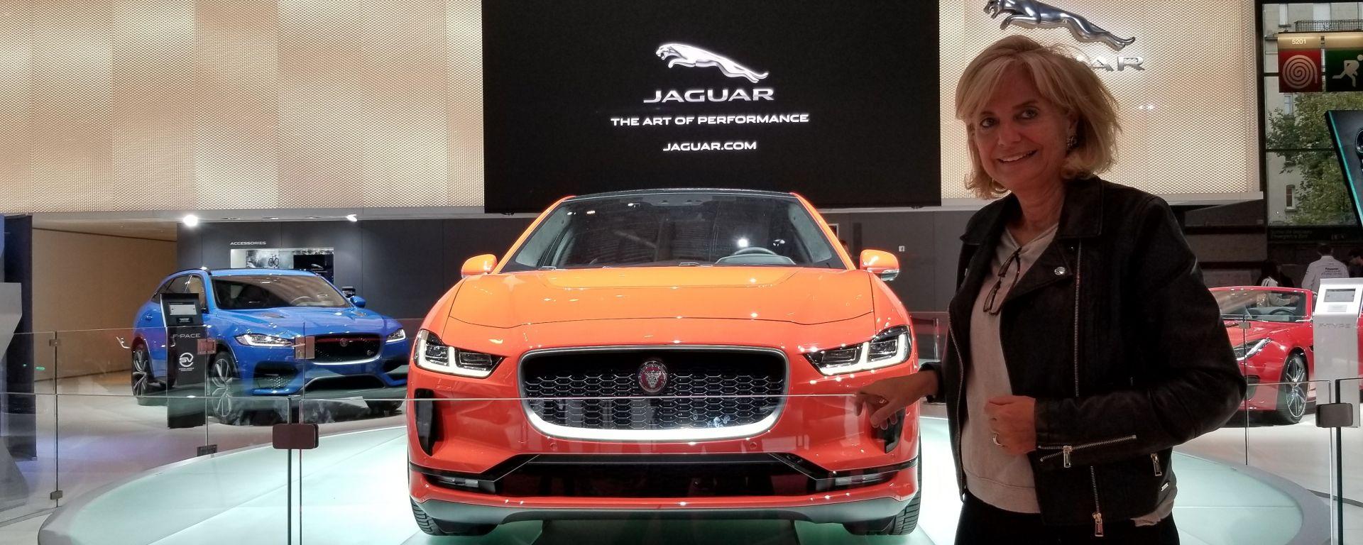 Novità Jaguar a Parigi 2018: intervista a Lidia Dainelli