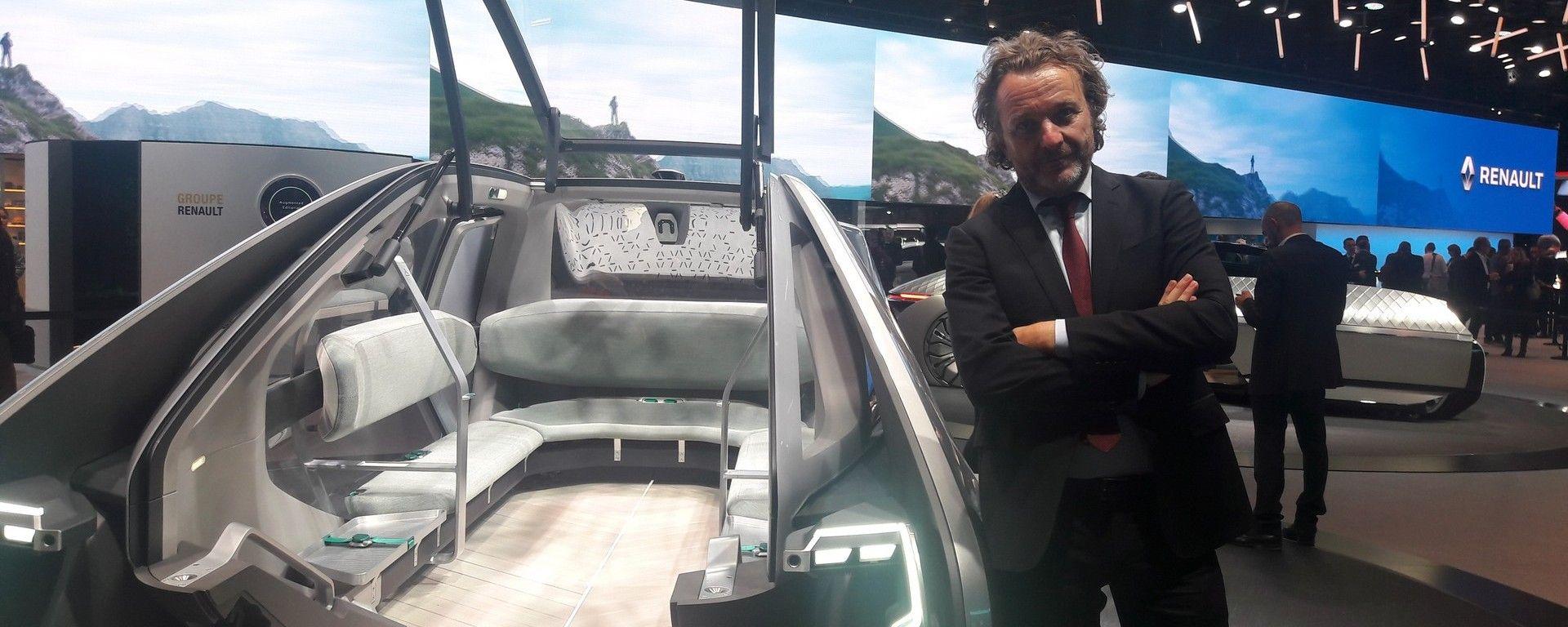 Novità Renault a Parigi 2018: intervista a Francesco Fontana Giusti