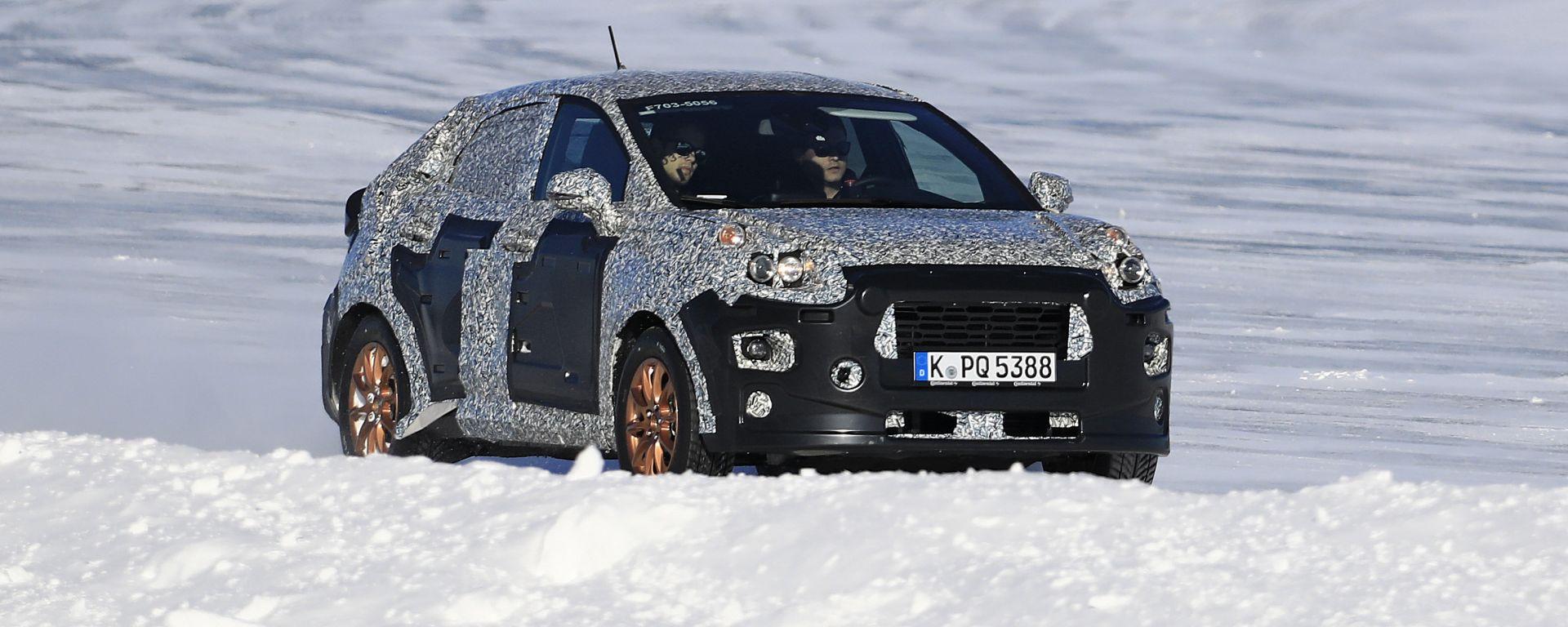 Nuovo SUV Ford: su base Fiesta sfida T-Cross e Arona