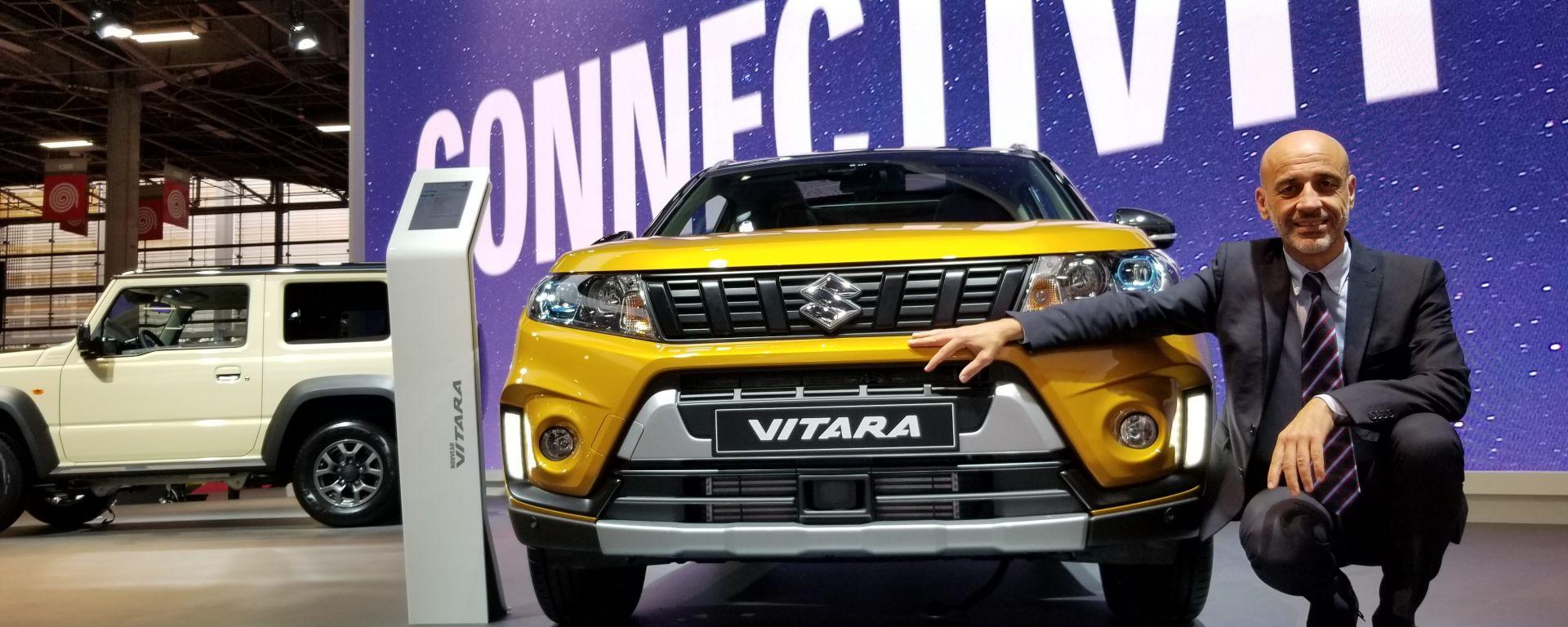 Novità Suzuki a Parigi 2018: intervista a Massimo Nalli