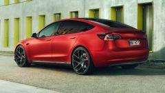 Novitec Tesla Model 3 il fianco sinistro