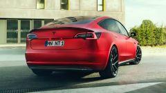 Novitec Tesla Model 3 il retro
