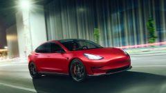 Novitec Tesla Model 3 su strada