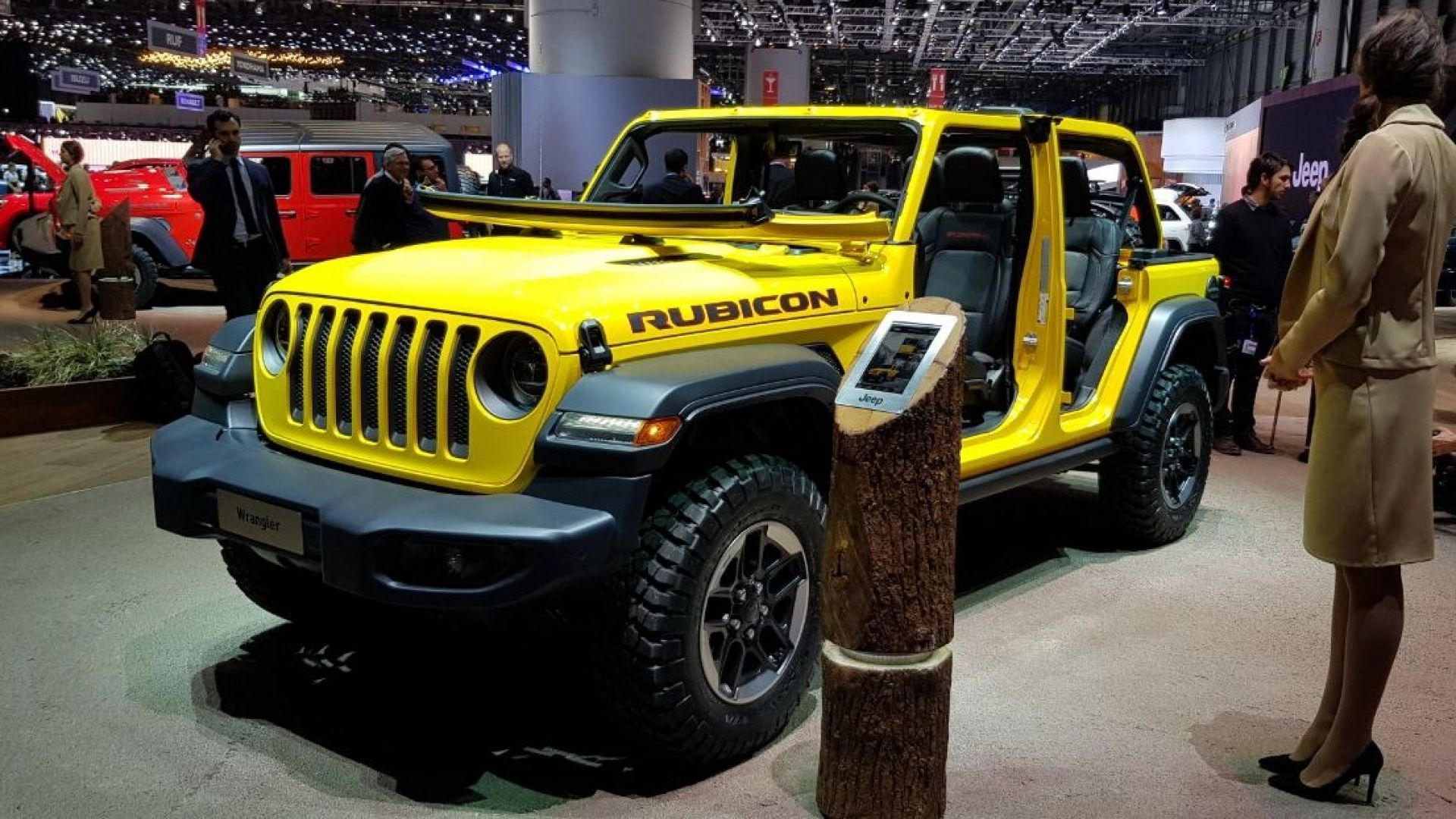 salone di ginevra 2018 le novit allo stand jeep con renegade e wrangler motorbox. Black Bedroom Furniture Sets. Home Design Ideas