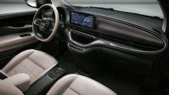 Nuova 500 elettrica: gli interni in colore chiaro