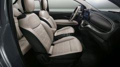 Nuova 500 elettrica: i sedili