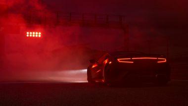 Nuova Acura NSX Type S: il motore 3,5 litri biturbo ibrido potrebbe raggiungere 600 CV