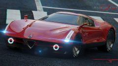 Nuova Alfa Romeo 8C, quando uscirà sarà così? Altro rendering - Immagine: 4