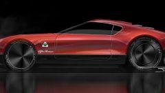 Nuova Alfa Romeo 8C, quando uscirà sarà così? Altro rendering - Immagine: 7