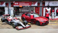 Nuova Alfa Romeo Giulia GTAm: debutto al GP F1 di Imola 2021