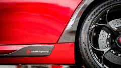 Nuova Alfa Romeo Giulia GTAm: un dettaglio dove si intravvede il cerchio da 20