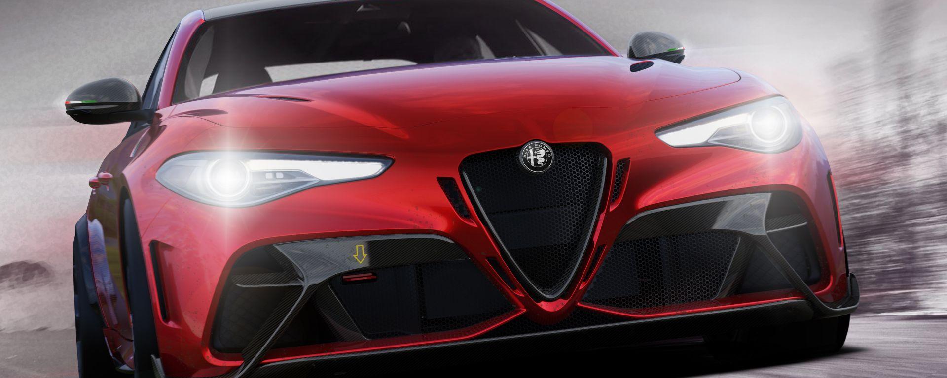 Nuova Alfa Romeo Giulia GTAm