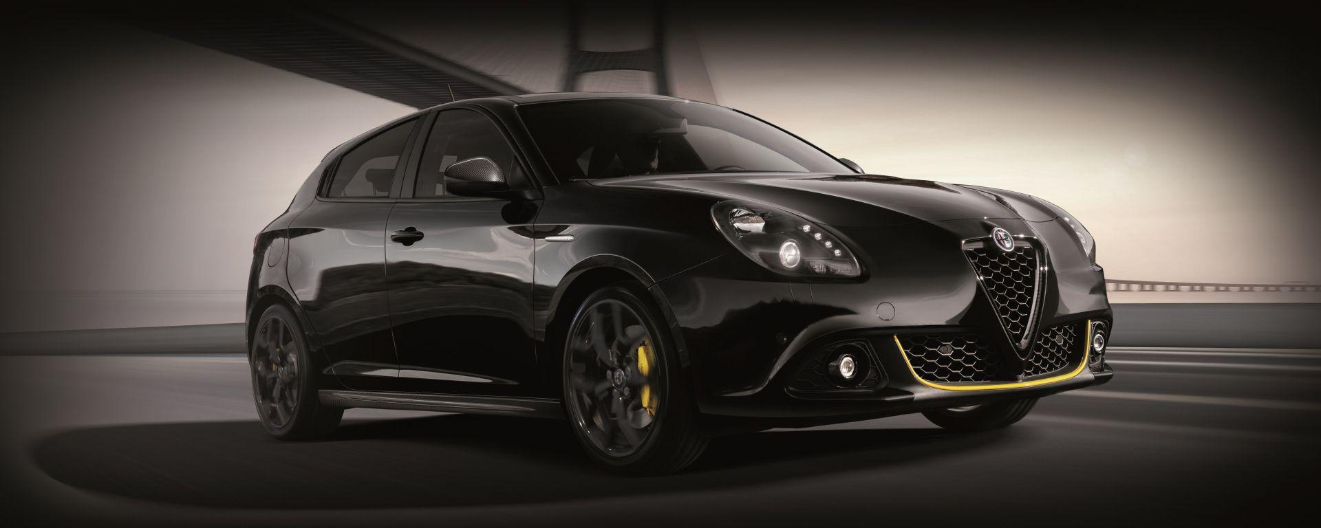 Nuova Alfa Romeo Giulietta Carbon Edition
