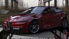 Nuova Alfa Romeo Giulietta, il render di LP Design