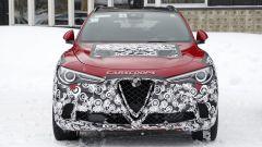 Nuova Alfa Romeo Stelvio 2020: il nuovo frontale mascherato