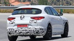 Nuova Alfa Romeo Stelvio 2020: il posteriore con nuovi fari