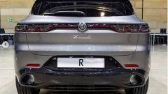 Nuova Alfa Romeo Tonale: la coda con i fari a LED