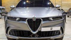 Nuova Alfa Romeo Tonale: una vista dell'avantreno