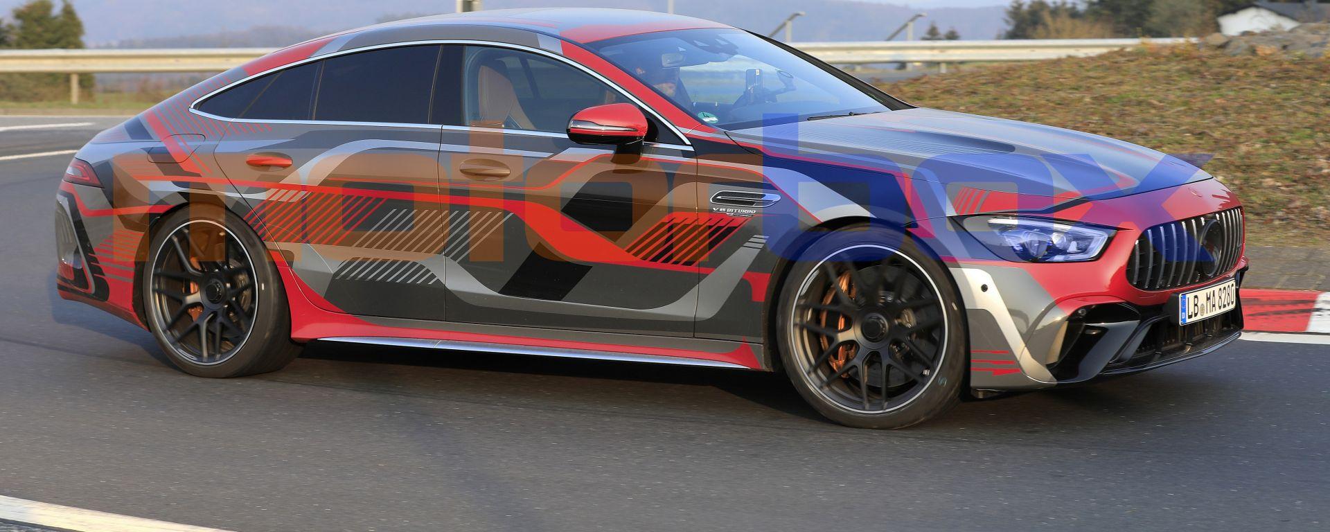 Nuova AMG GT Coupé 4 2021: in arrivo il facelift della sportiva tedesca