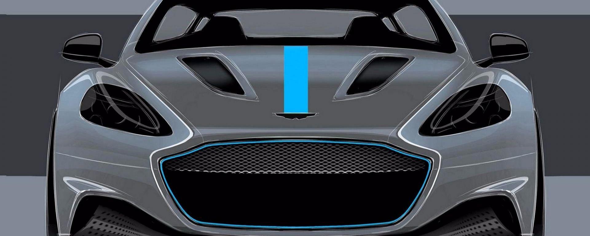Aston Martin Rapide: nel 2019 arriva l'elettrica